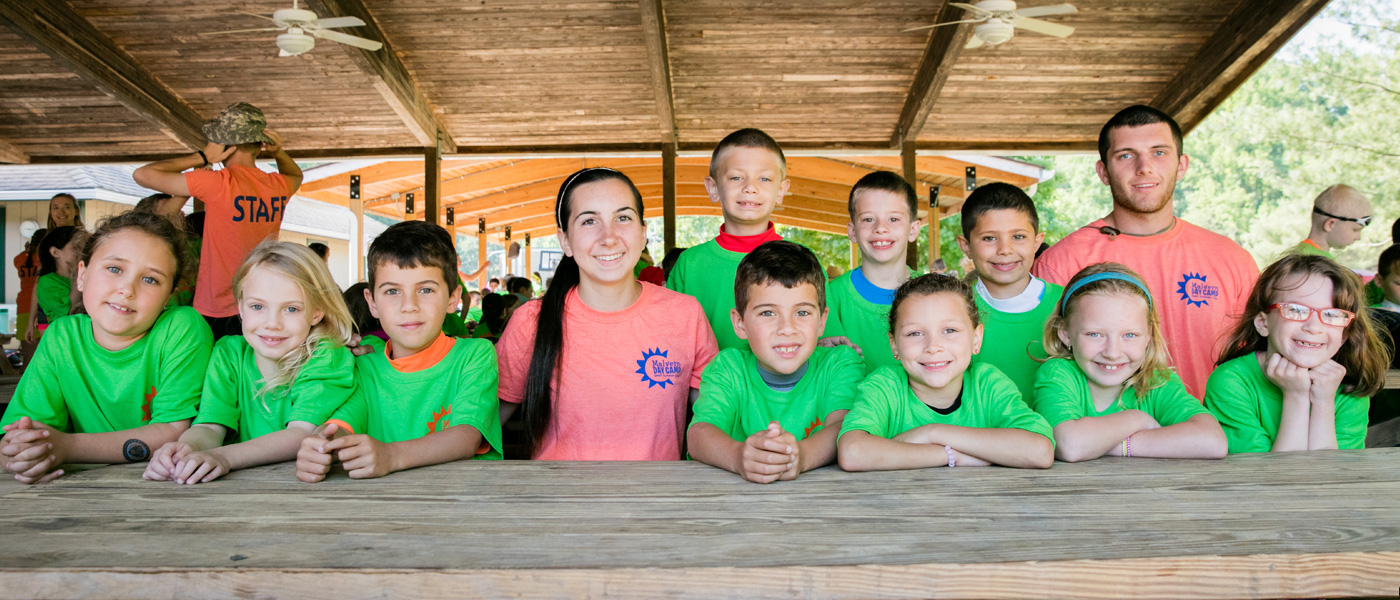 Summer Camp Lunches at Day Camp Pennsylvania